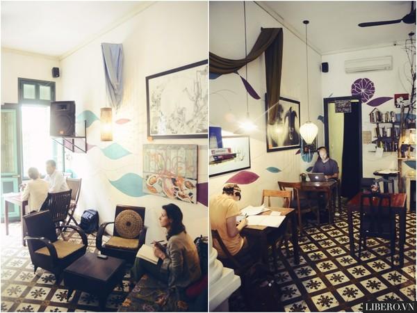 The Hanoi Social Club - Quán cafe lãng mạn ở Hà Nội