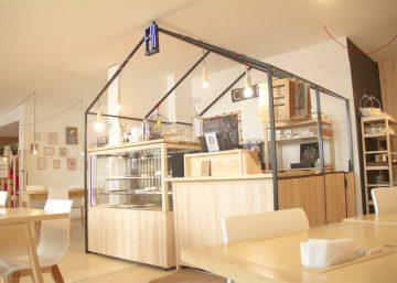 Cafe xích đu gỗ 8