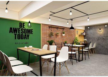 Quán cafe tại Ngọc Khánh