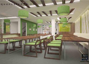 Thiết kế nhà hàng Cuốn N Roll 1