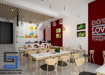 Thiết kế chuỗi quán cafe kem NZ tại Hà Giang