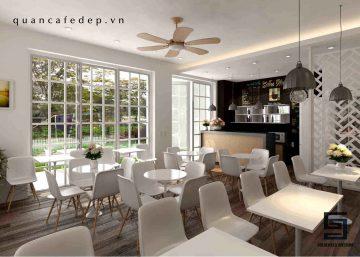 Thiết kế quán cafe tại Mỹ Đình