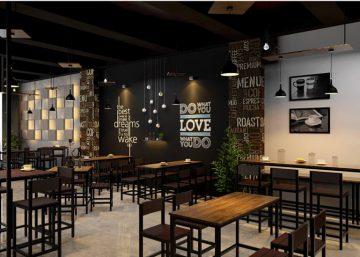 Cafe phong cách vintage mạnh mẽ tại Mê Linh