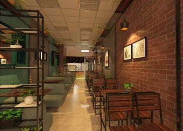 Quán cafe phong cách tối giản tại Trung Văn