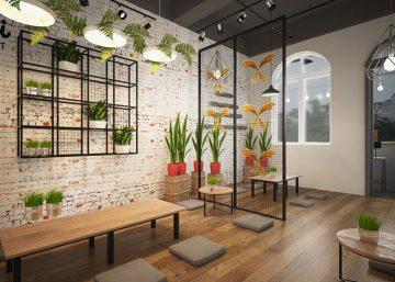 Những ý tưởng thiết kế quán cafe độc đáo cho người trẻ khởi nghiệp 9
