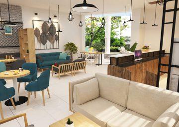 Goldesea Thiết kế quán Cafe 12