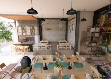 10 ý tưởng thiết kế quán cafe đẹp hút khách và tiết kiệm chi phí cho bạn 6