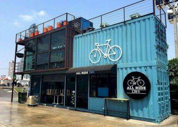 Thiết kế quán cafe container đôc đáo, mới lạ và tiết kiệm chi phí 4