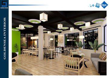 Thiết kế quán cafe WATCHA nổi bật nơi đất cảng 6