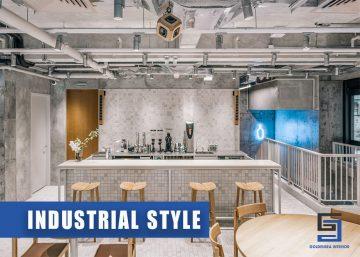Phong cách Industrial mạnh mẽ trong thiết kế nội thất quán cafe 3